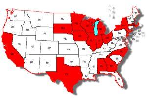 L`influenza letale del cane H3N2 ha ora raggiunto 16 stati.