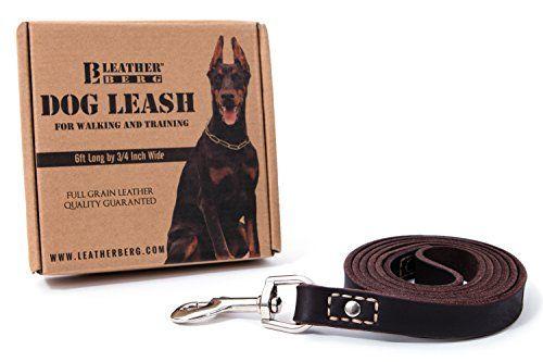 Giveaway: guinzaglio per cani Leatherberg 6 piedi (valore $ 35)