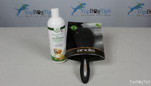 Giveaway: spazzola per la pulizia di andis e shampoo zona cane felice ($ 33 + valore)