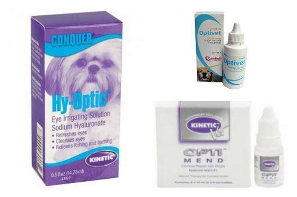 Collirio per cani cinetico richiamato a causa della contaminazione batterica
