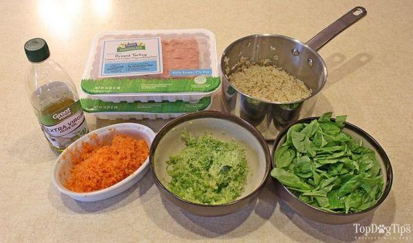 Ricetta: cena di ringraziamento fatta in casa per cani