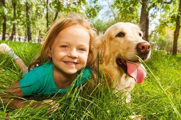 La ricerca mostra che i bambini sono più vicini agli animali rispetto ai fratelli