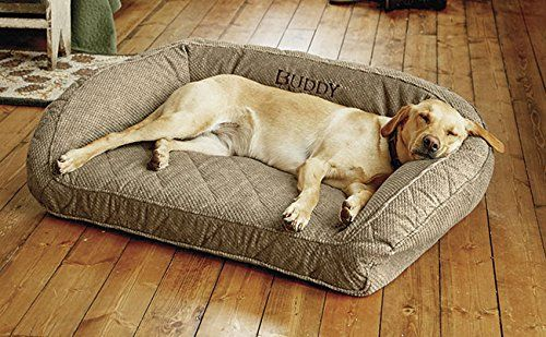 Deep Dish Bed With Quilted Sleep Surface di Orvis