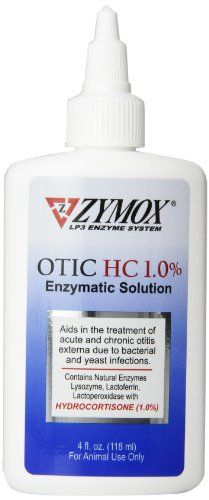 Zymox Otic Pet Ear Treatment con idrocortisone