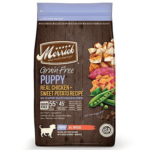 Ricetta per cuccioli senza cereali Food Dry di Merrick